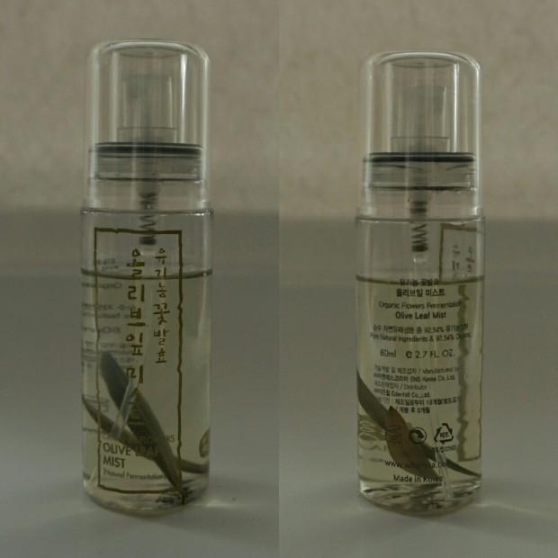 whamisa organic flowers olive mist