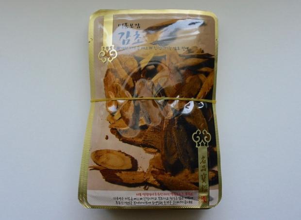 evercos licorice sheet mask
