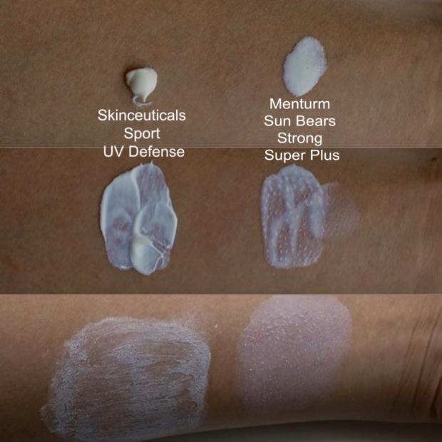 skinceuticals sun bears arm swatch