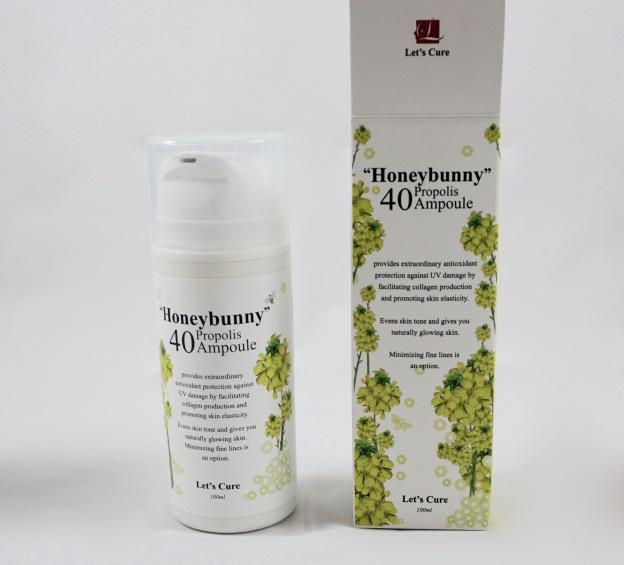 let's cure honeybunny 40 propolis ampoule