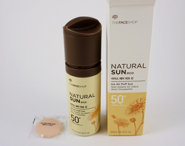 the face shop sunscreen ice air cool butane gas foundation
