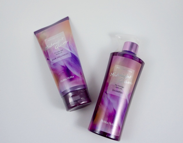 holika holika perfume dress midnight glam shampoo conditioner