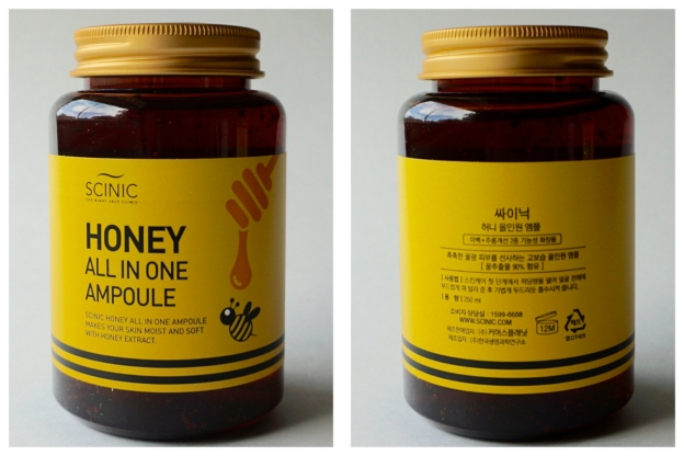 scinic all in one honey ampoule review