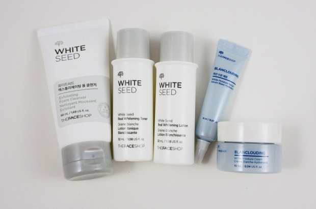 thefaceshop white seed blanclouding