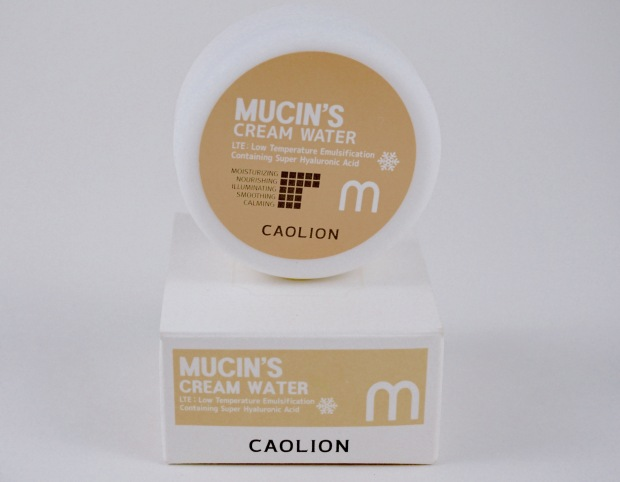 caolion mucin's cream water