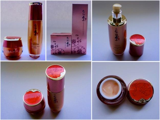 sooryehan ginseng juice essence and cream