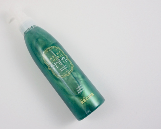 Re:cipe Marine Mineral Cleansing Fluid Review