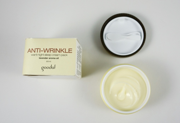 goodal anti wrinkle sleeping pack