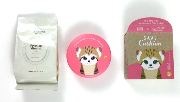 etude house save cushion