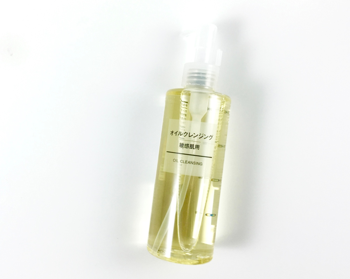 Muji Sensitive Skin Cleansing Oil