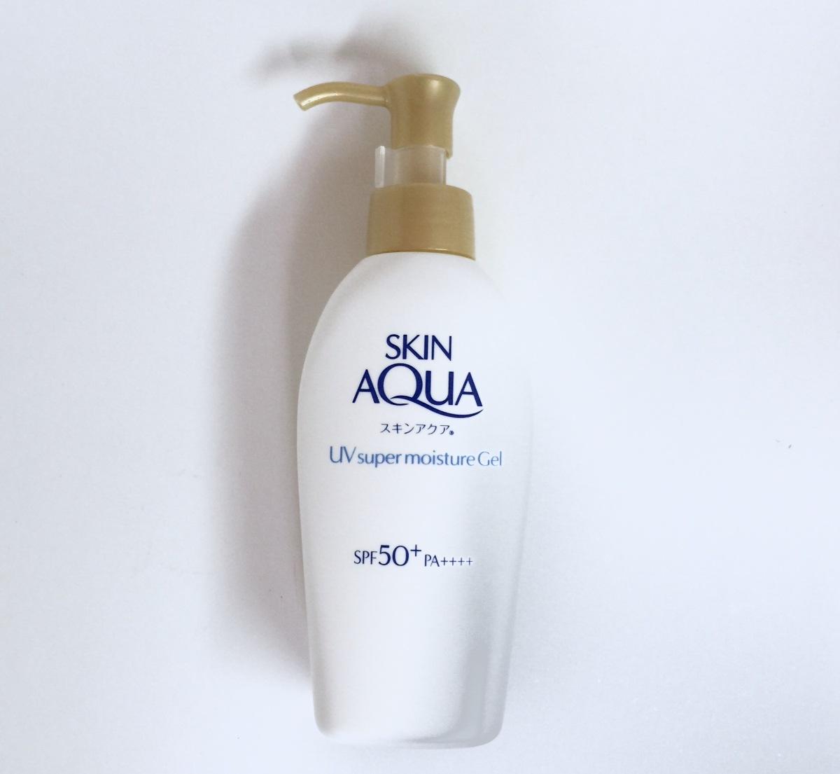 Skin Aqua Super Moisture Gel Spf50 Pa Vanity Rex Nivea Sun Lotion Spf 50 100 M